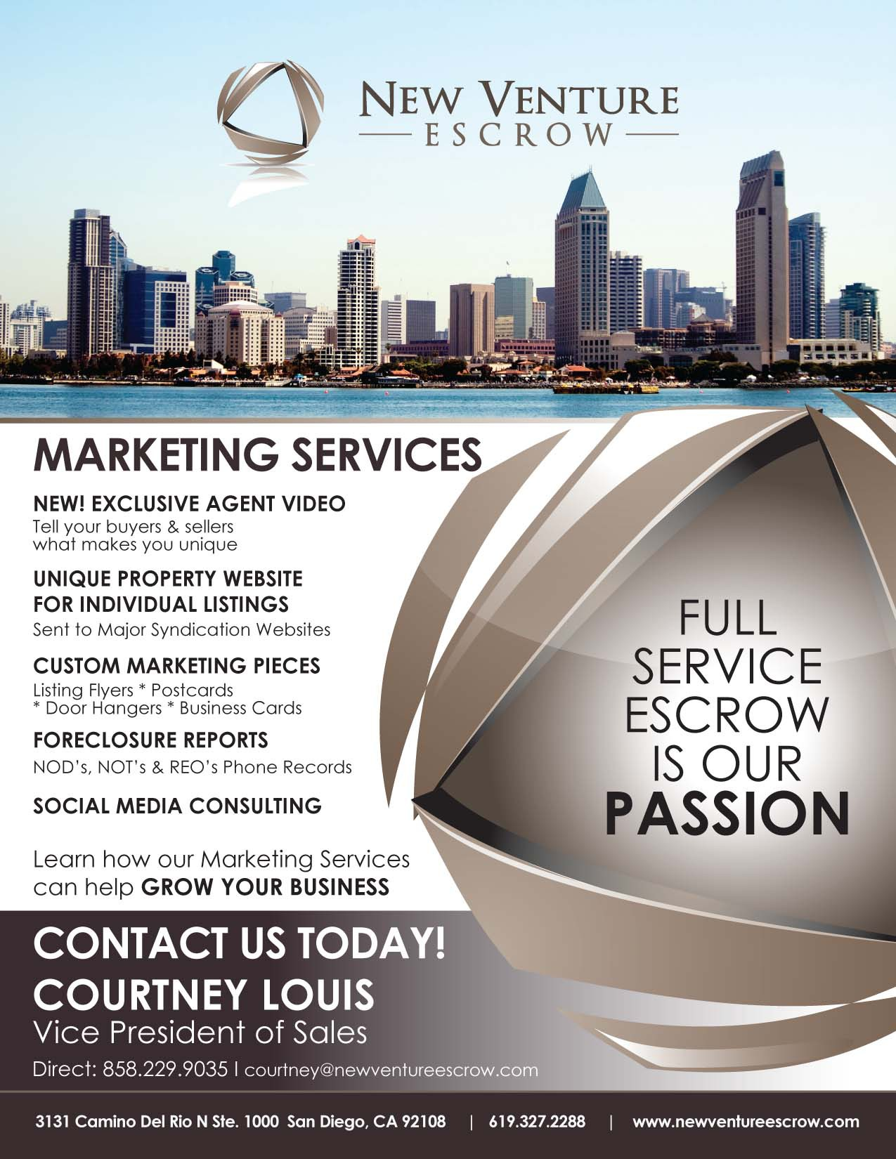 One Page Flyer Re-Design Needed!!!