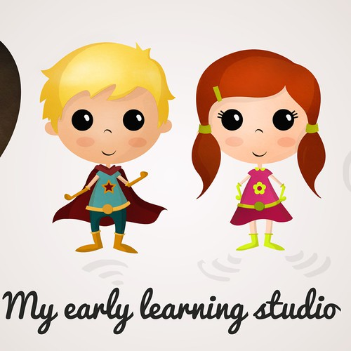 Create 4 superhero's for little learners to engage with at my early learning studio