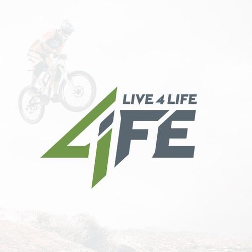 4LIFE logo design