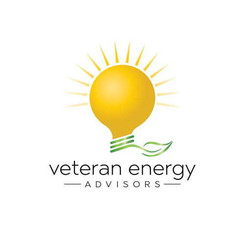 Logo concept for a natural energy source brand.