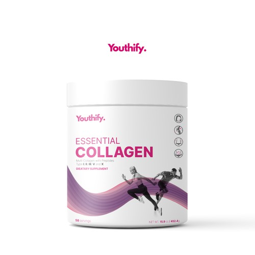 Collagen Supplement Package