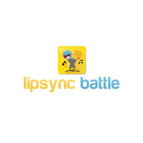 Logo concept for Lipsync Battle