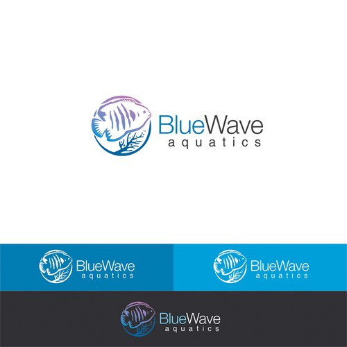Saltwater logo for Blue Wave Aquatics