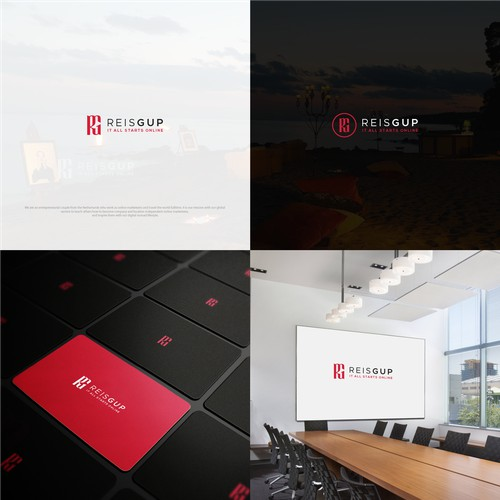 logo for a global online marketing company!