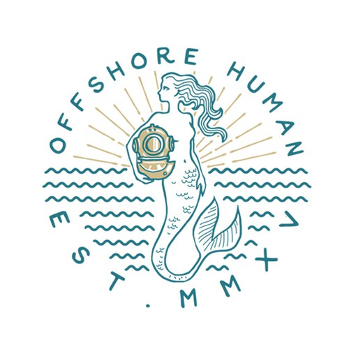 OFFSHORE HUMAN LOGO