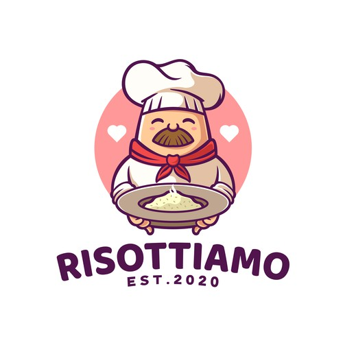 Cute Chef Logo