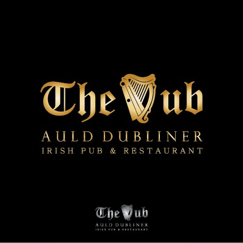 The Dub - logo for Irish pub