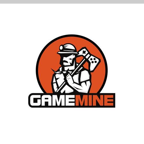Logo concept for Gamemine