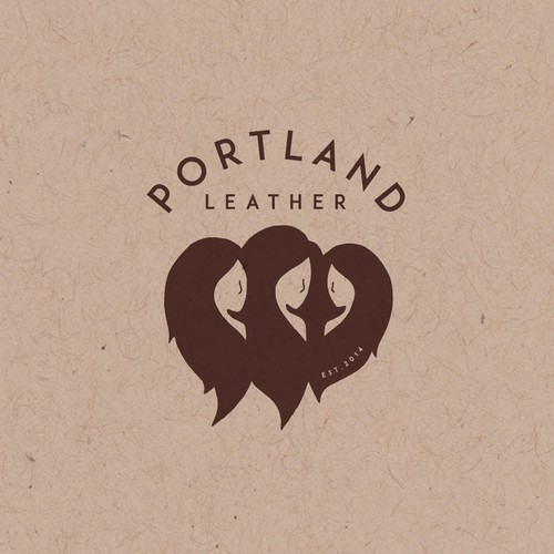 Logo concept for Portland Leather