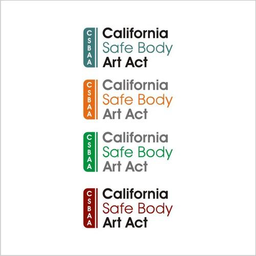 California Safe Body Art Act logo