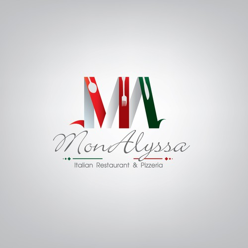 MonAlyssa Italian Restaurant & Pizzeria needs a new logo and business card