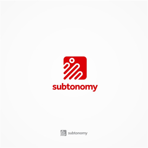 Subtonomy Logo Design - Simple & Meaningful Logo