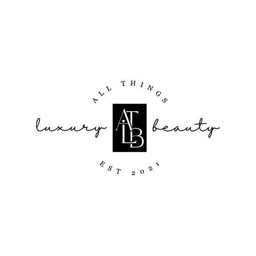 Luxury monogram design for Luxury Beauty Community