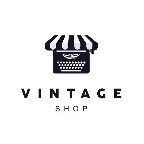 Logo for a vintage shop