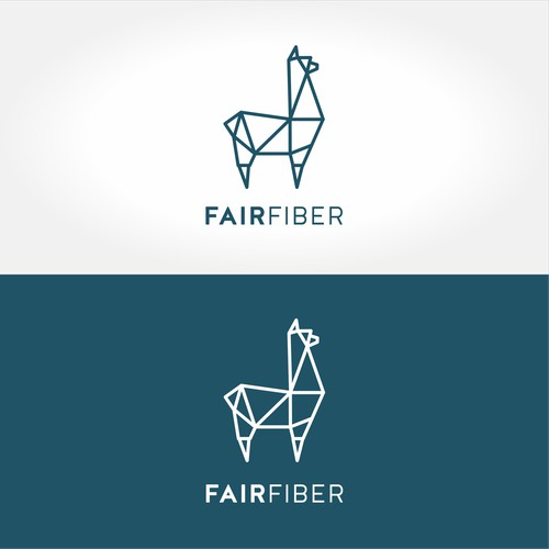 Geometric logo for fashion store