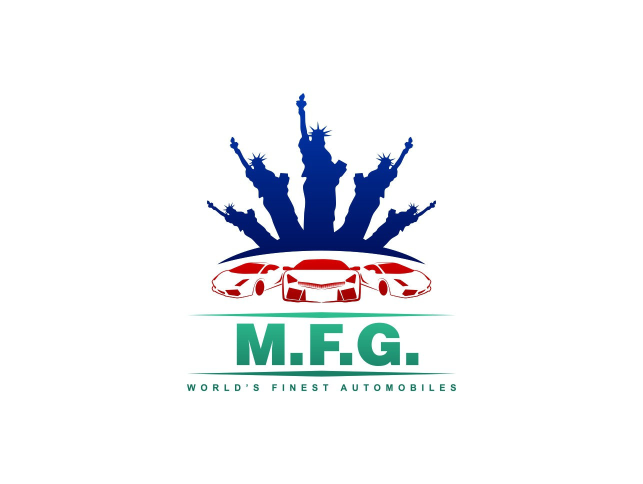 LOGO for M.F.G. World's Finest Automobiles