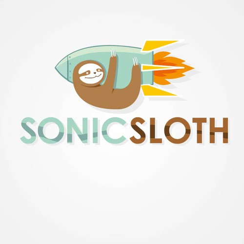 Sonic Sloth needs a logo for mobile games company.