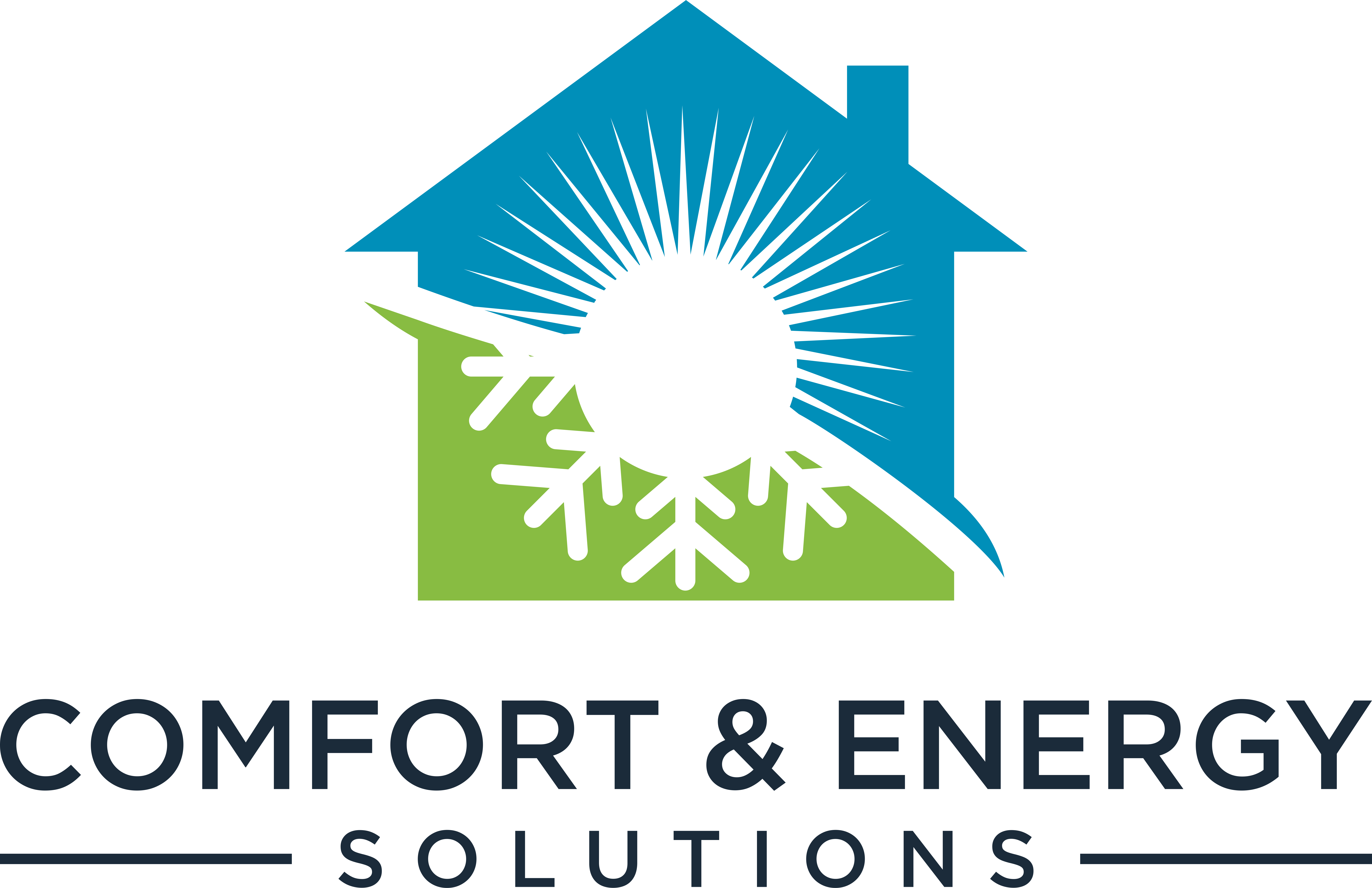 We need a logo for an energy efficiency company that appeals to homeowners.