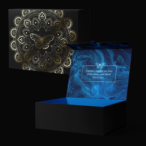 Aromatherapy Candle Bowl, Gift Set Packaging