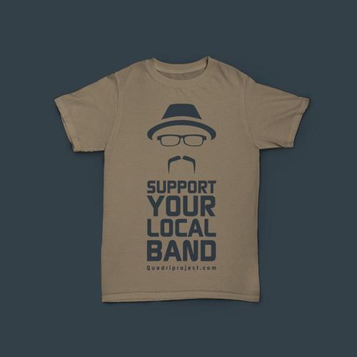 QuadriProject - T-Shirt design