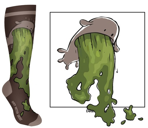 New design wanted for Dirty Rotten Socks
