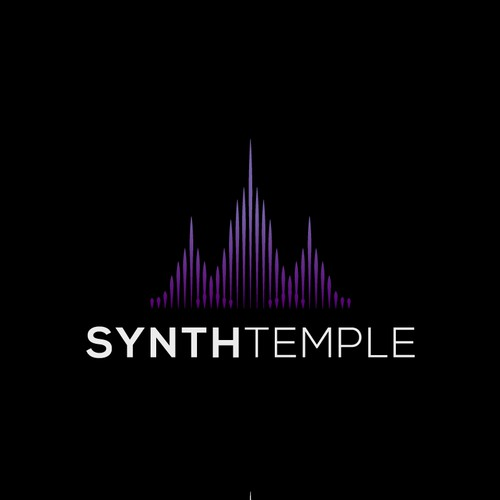 Logo for a vintage synth recording studio