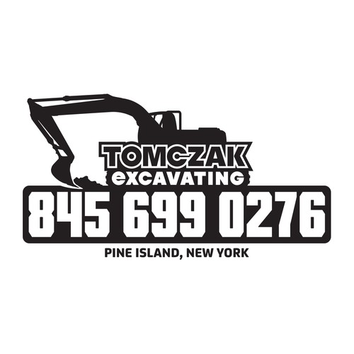 Create a logo for a competitive excavating company in New York!