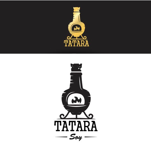 "Logo design for ""TATARA"" conmpany which creates soy sauce."