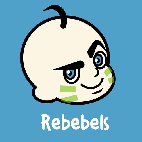 Logo made for Rebebels' Contest
