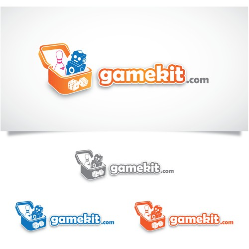 Online games website logo