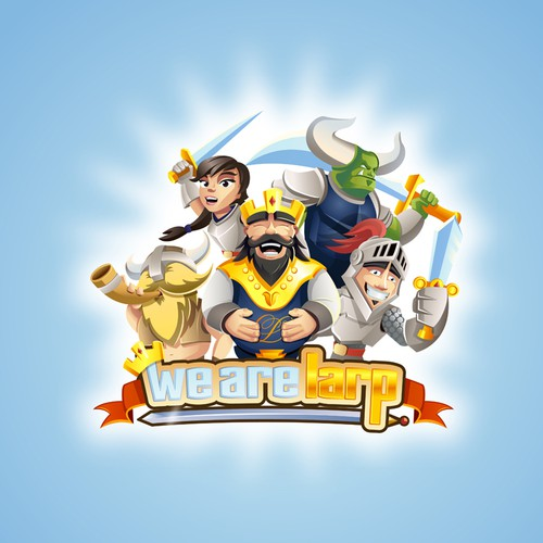 Knights and King logo