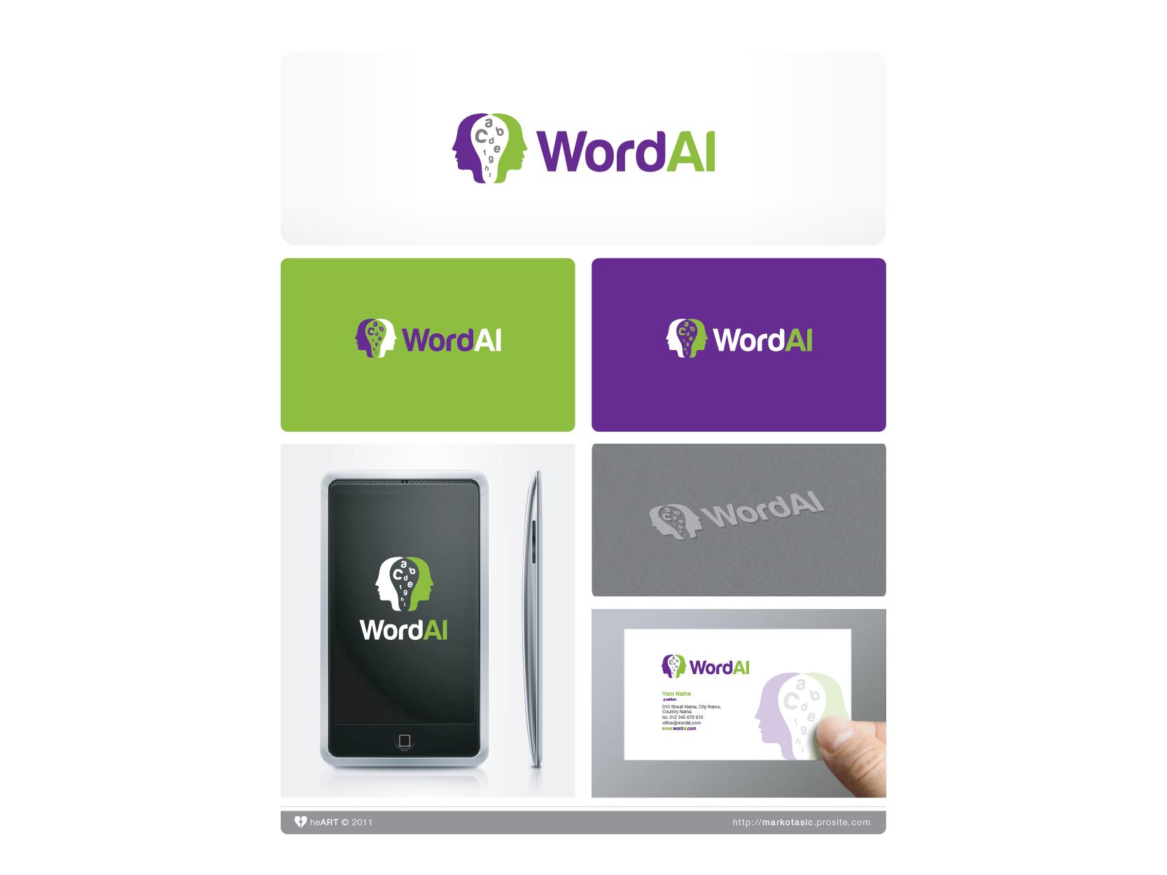 WordAI Needs a Logo (artificial intelligence company)