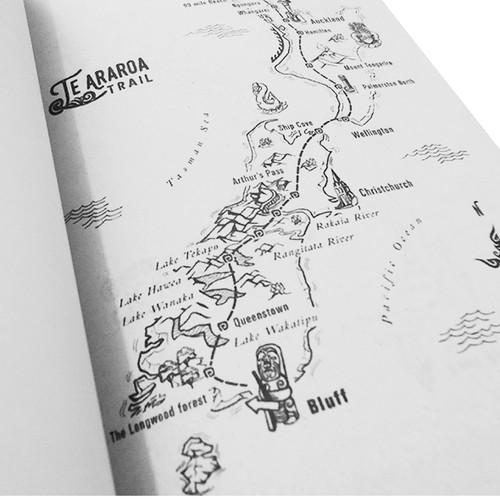 Te Araroa Map