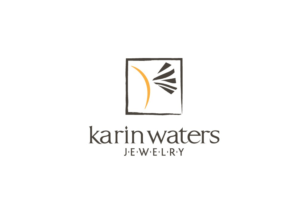 logo for karin waters jewelry