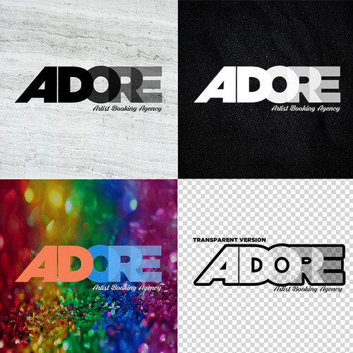 Adore Booking Agency Logo
