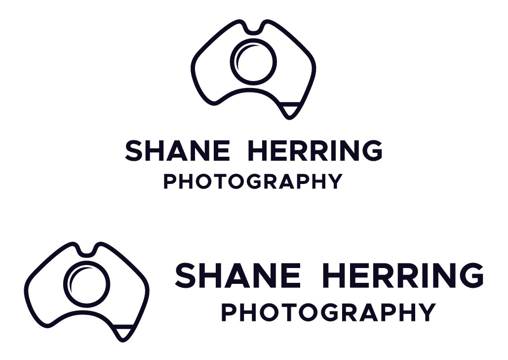 Logo for an Australian photographic and video services company.