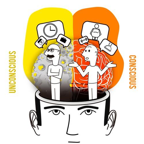 Dualism Illustration for Food Habits