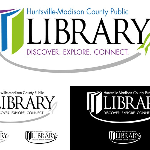 logo for Huntsville-Madison County Public Library