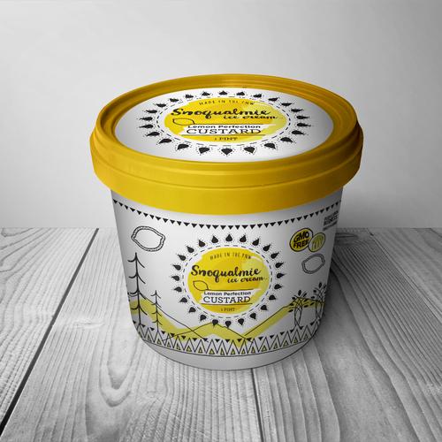 Ice Cream carton design