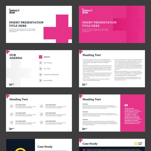 Powerpoint Template for Impact B2B