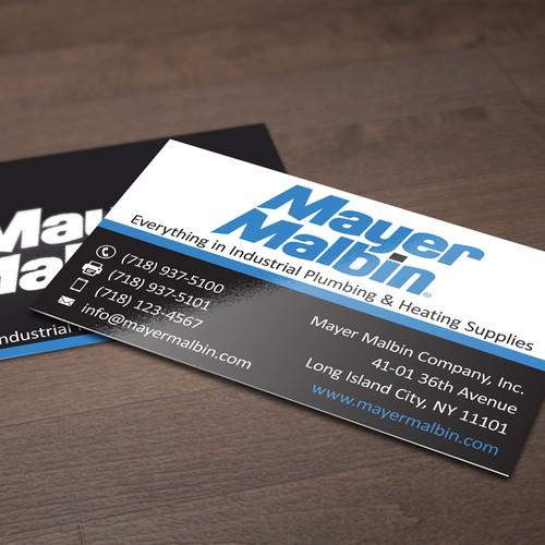Mayer Malbin Business Card