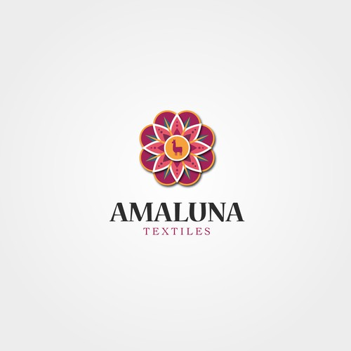 Traditional logo for a textile manufacturer