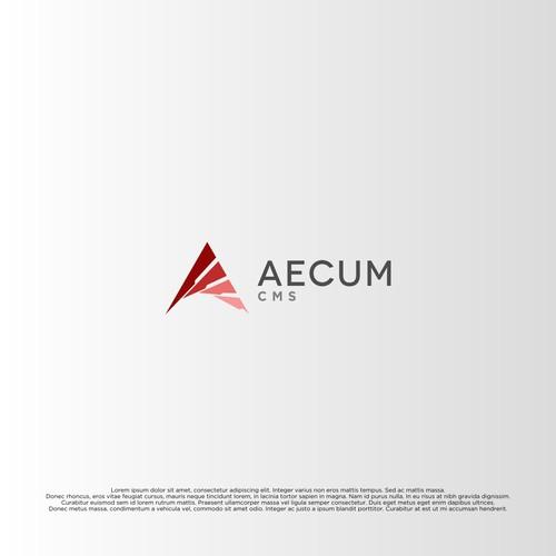 Aecum CMS Concept Logo