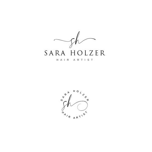 Hair artist logo