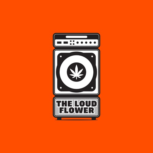 An eye catching America's marijuana logo in a industry of basic logos