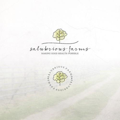 Logo Concept for Salubrious Farms