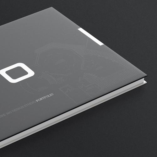 High-tech BookLet for Architecture Company Portfolio