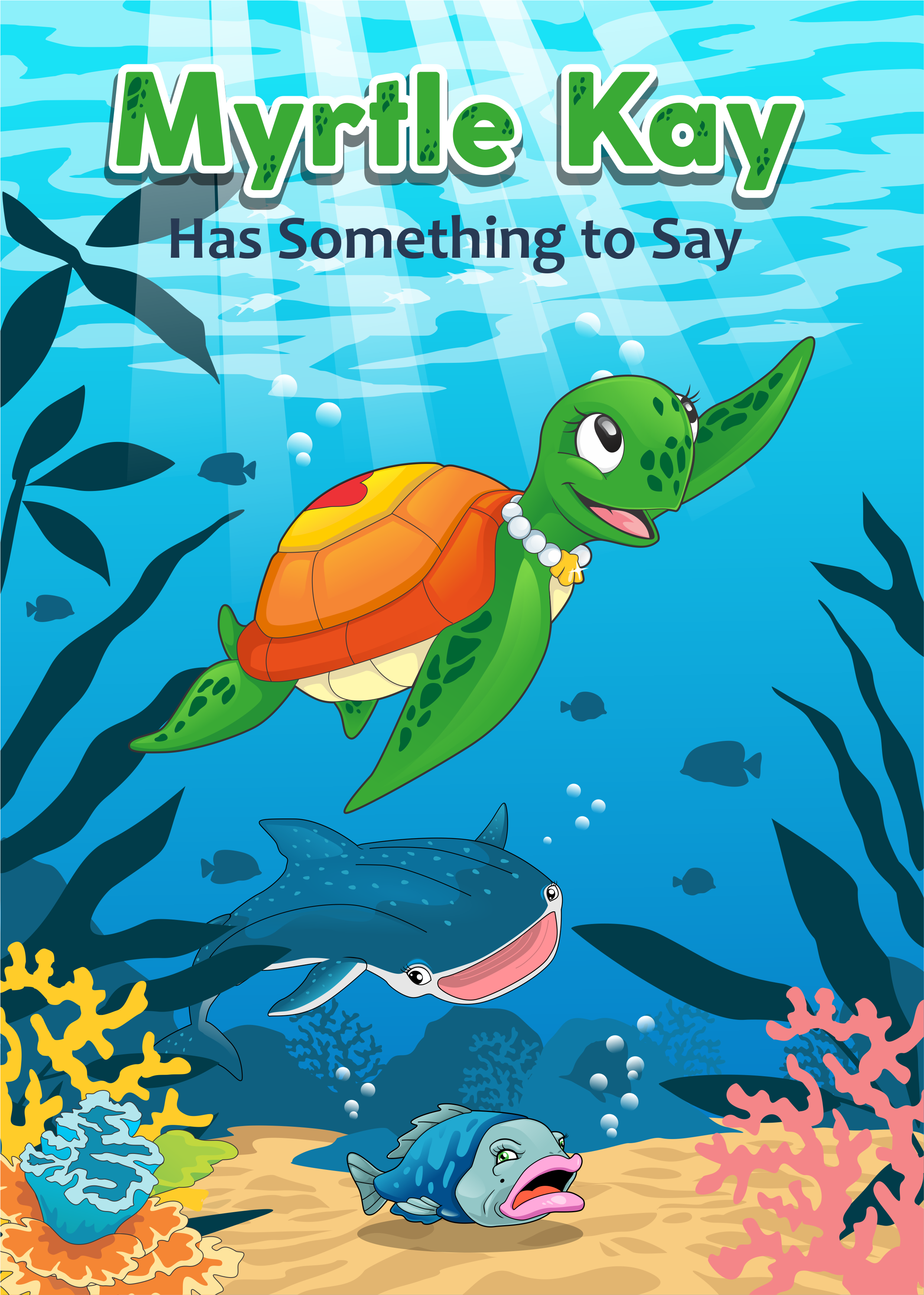 Children's book about diversity, using sea animals as characters