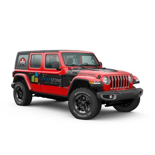 Winning Jeep Wrap Design