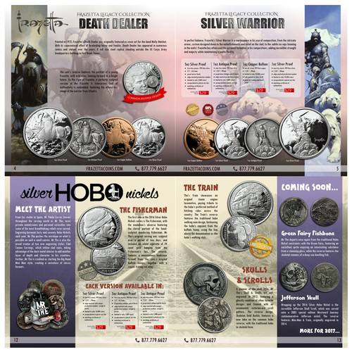 Coin brochure